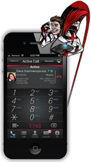 Allworx REACH iPhone App Knoxville