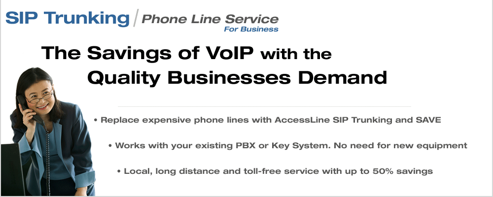 knoxville voip business phone line service sip trunkng
